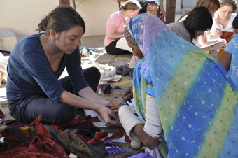 Workshop with KRV women graduates 2011